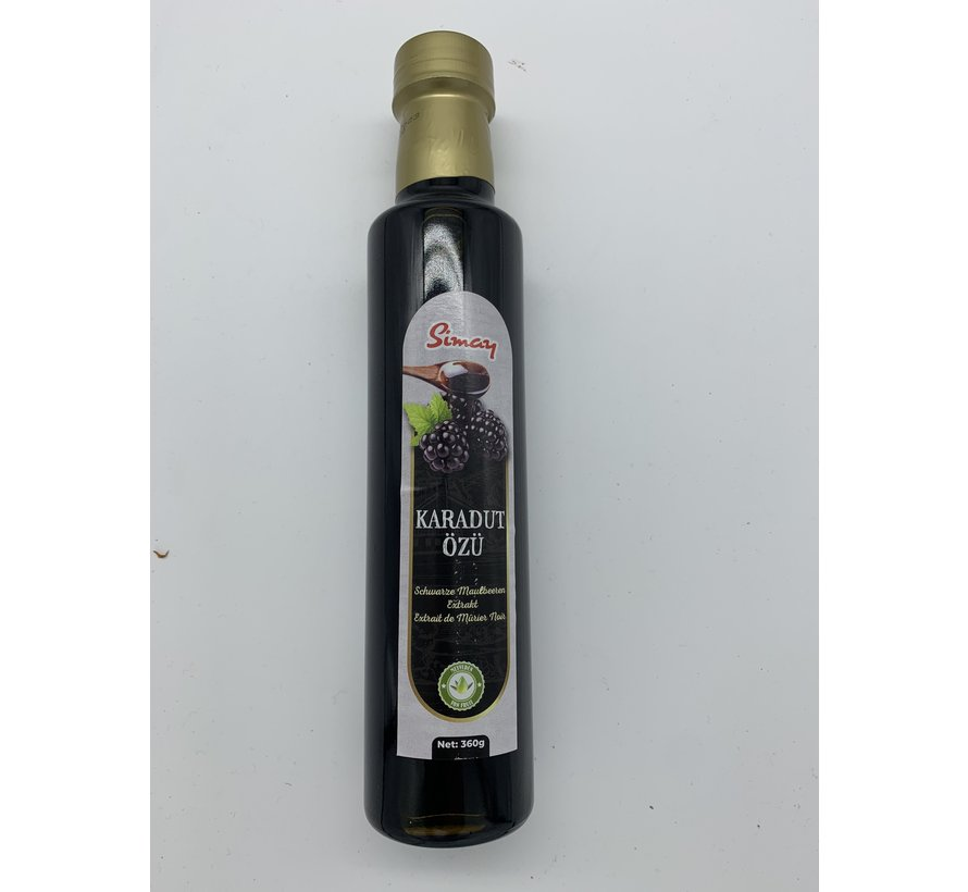 Black mulberry extract 360gr