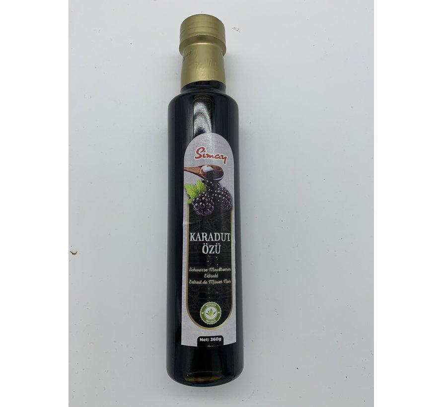 Extract van zwarte moerbei 360gr