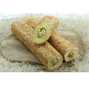 Turkish Delight with lemon blend and filled with hazelnuts 500gram