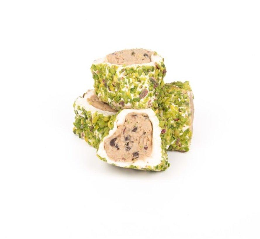 Halep Pirinç Fıstıklı Sarma Lokum 500 gram