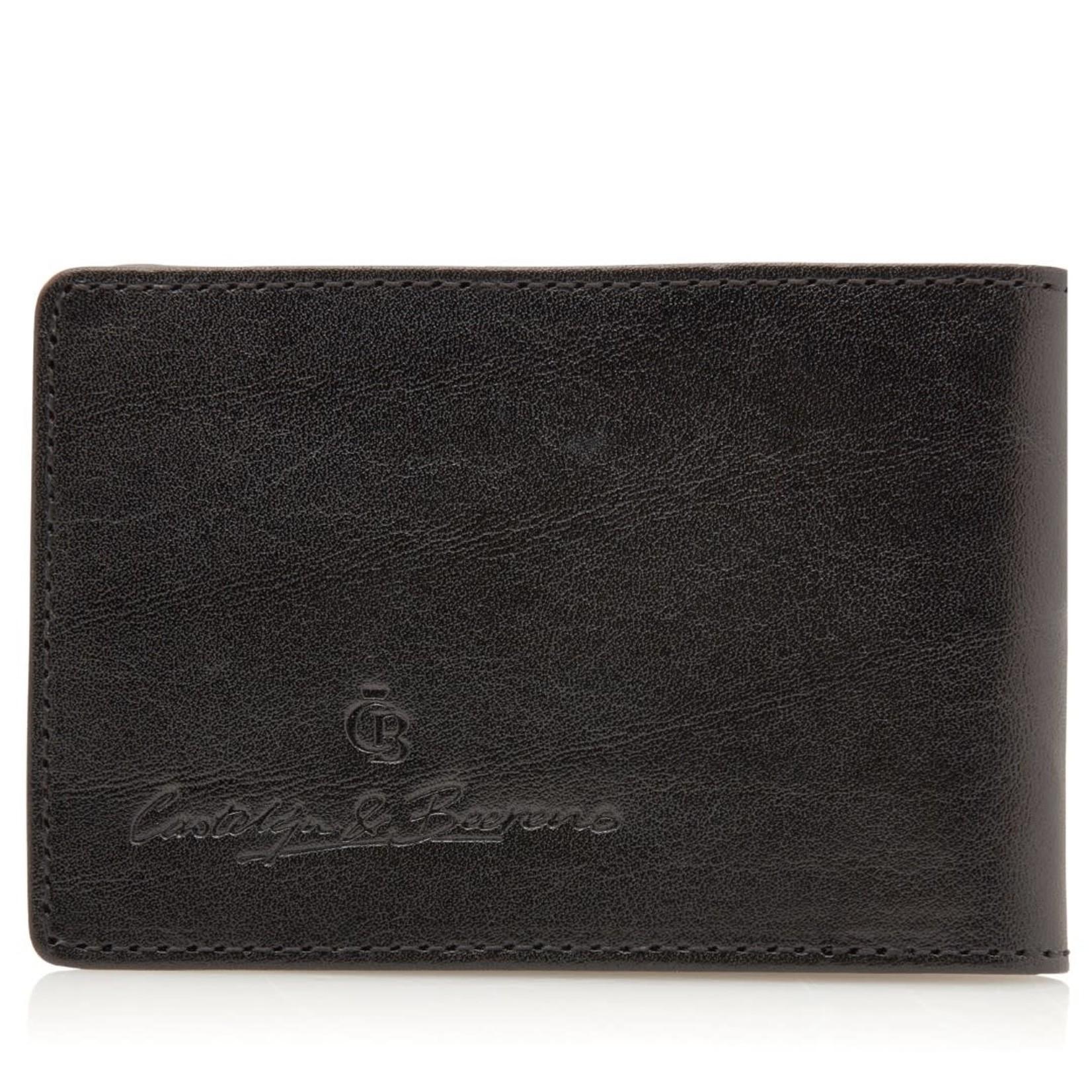 Creditcardetui 6 pasjes Zwart