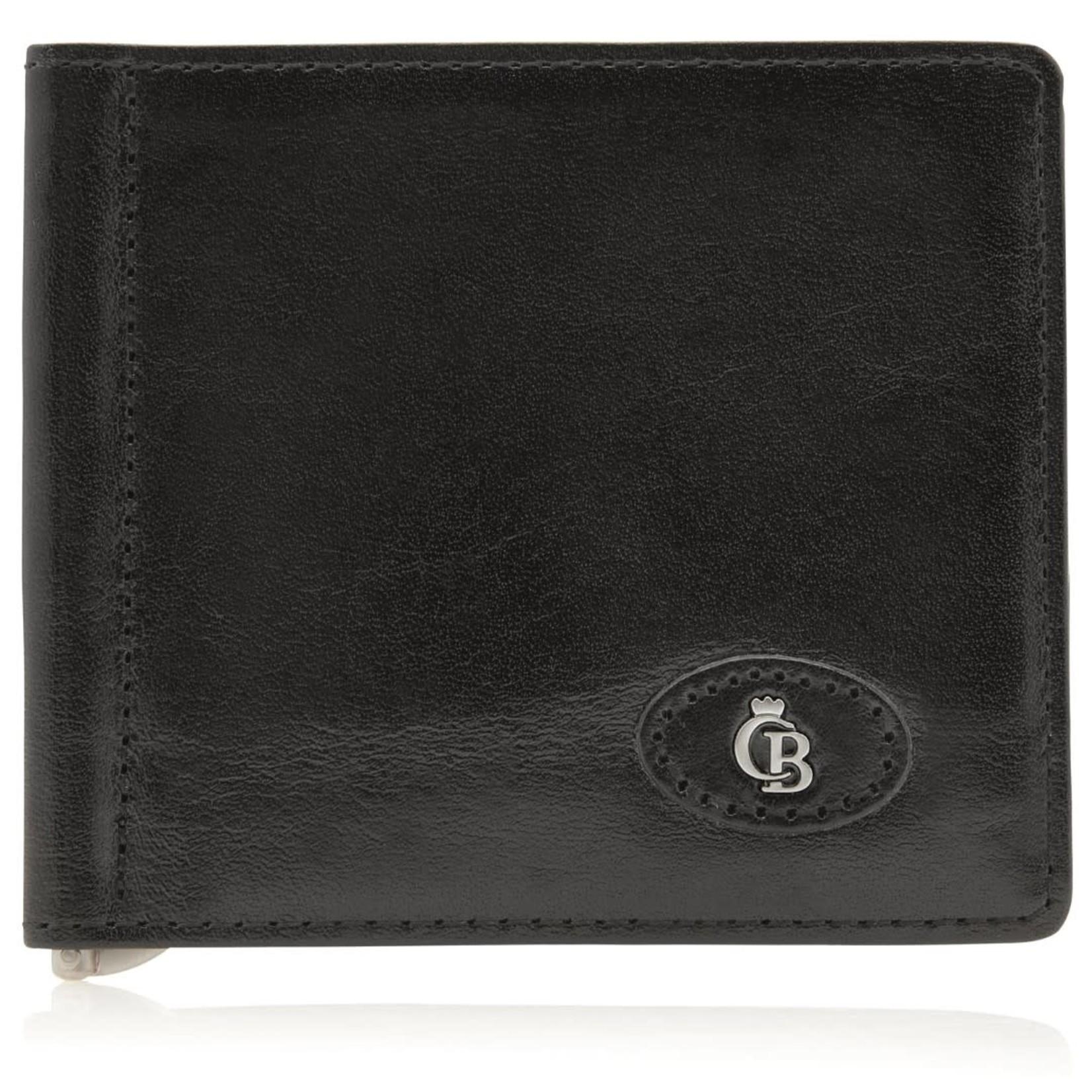 Castelijn en Beerens Portemonnee met dollarclip RFID Zwart