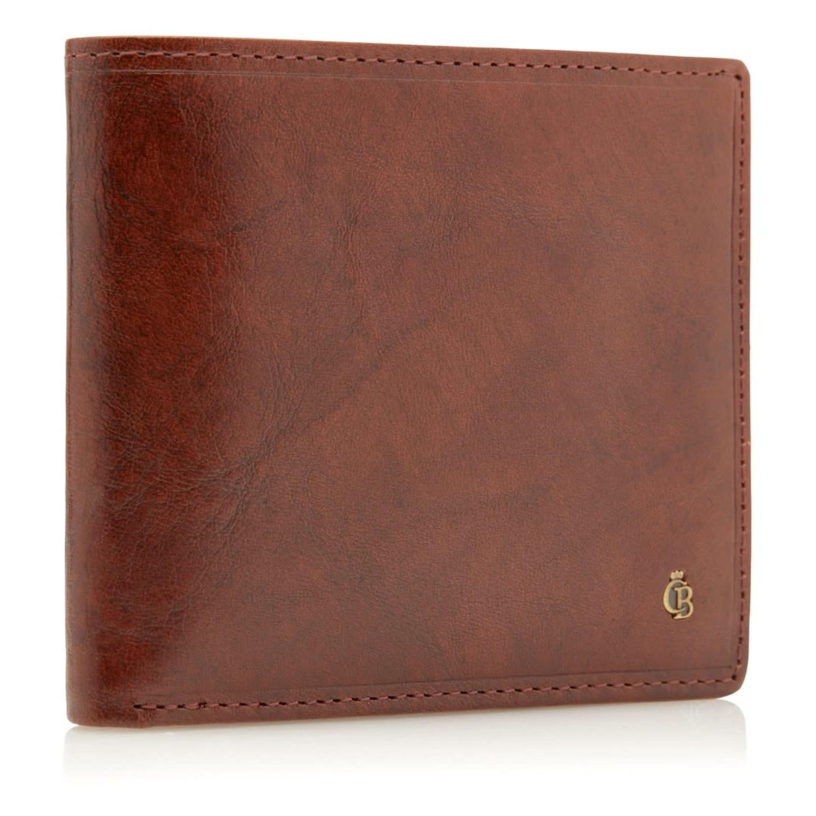 Castelijn en Beerens Billfold 6 pasjes RFID Cognac