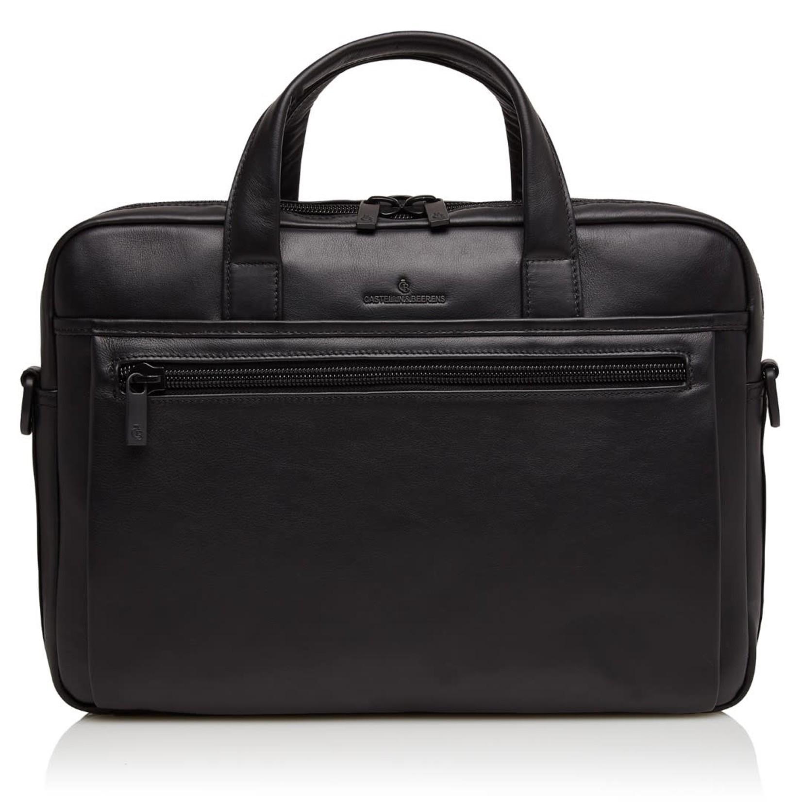 """Castelijn en Beerens Nappa X laptoptas 15,6"""" + tablet RFID Zwart"""