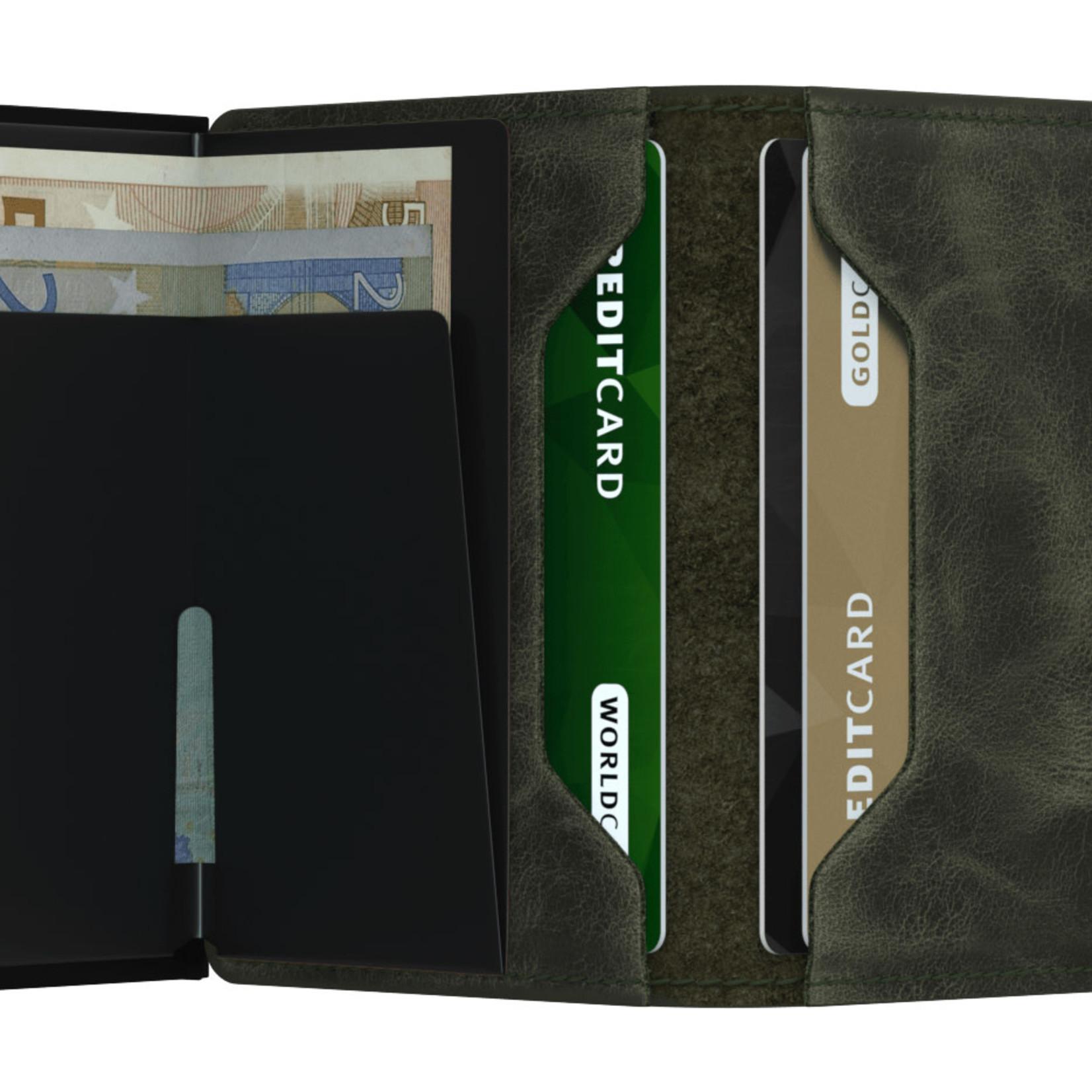 SECRID Secrid Slimwallet Vintage Olive-Black