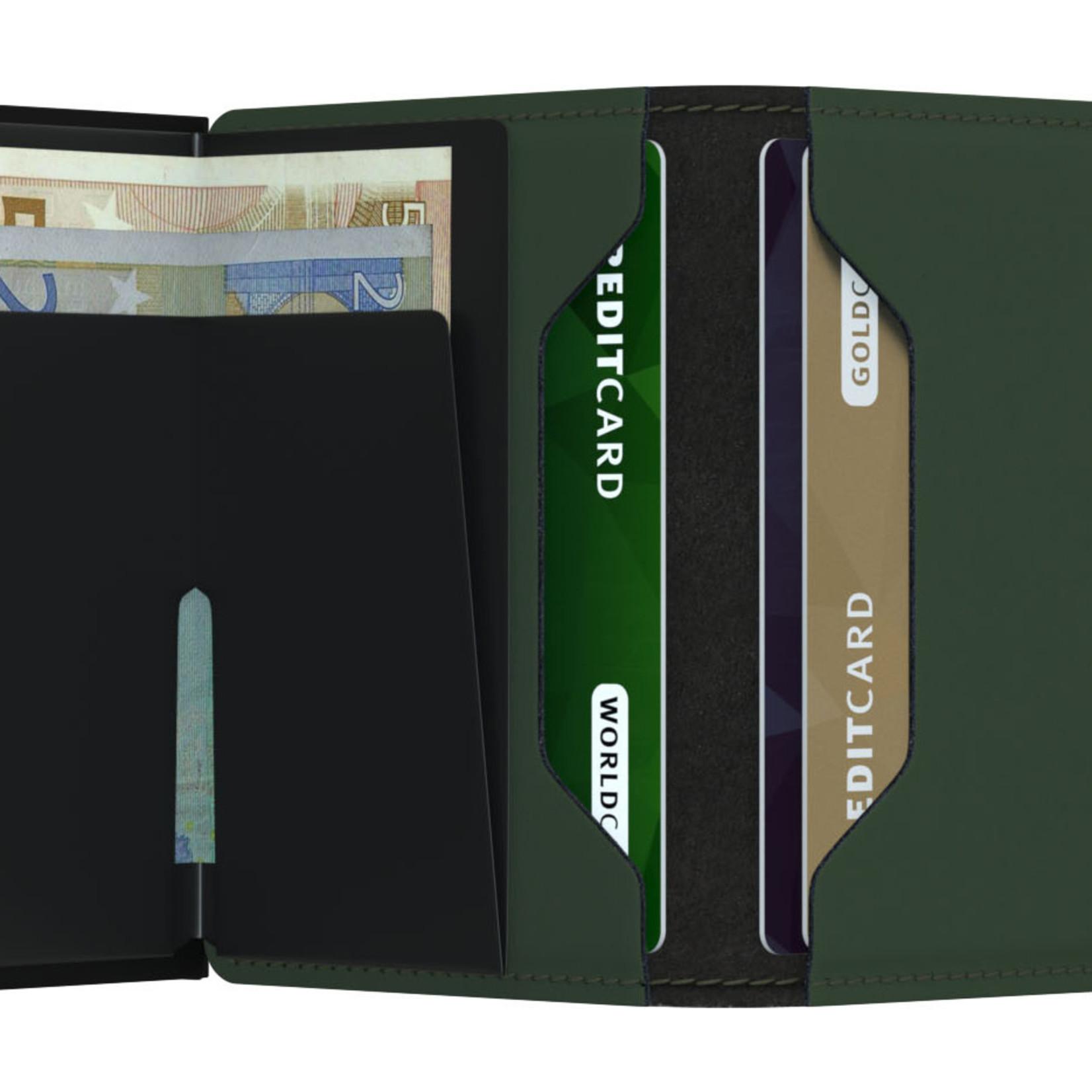 SECRID Secrid Slim Matte Green-Black