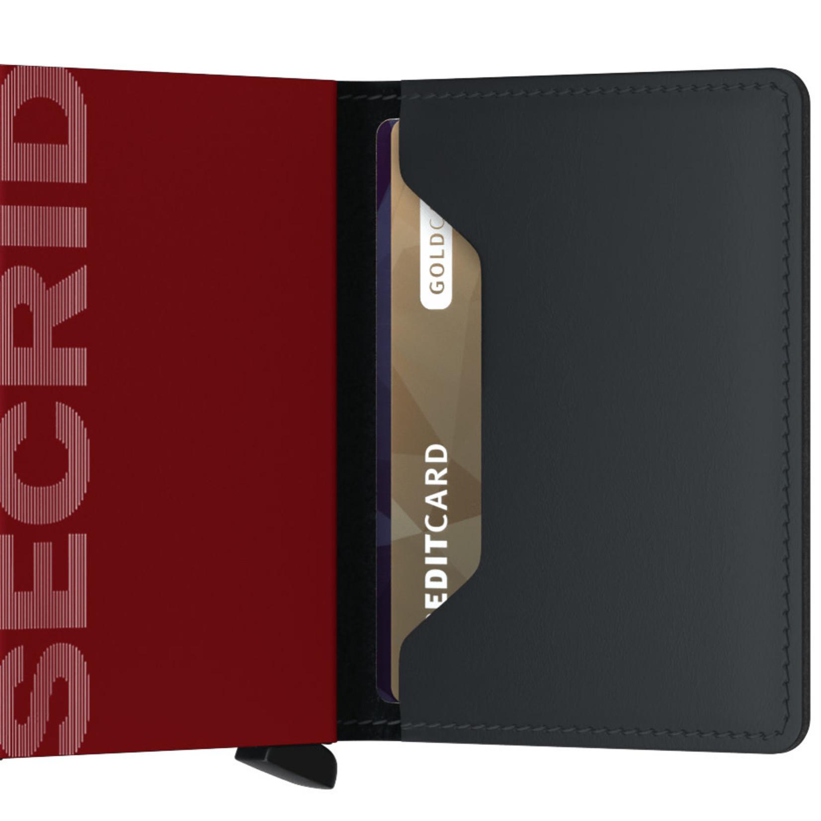 SECRID Secrid Slim Matte Black & Red