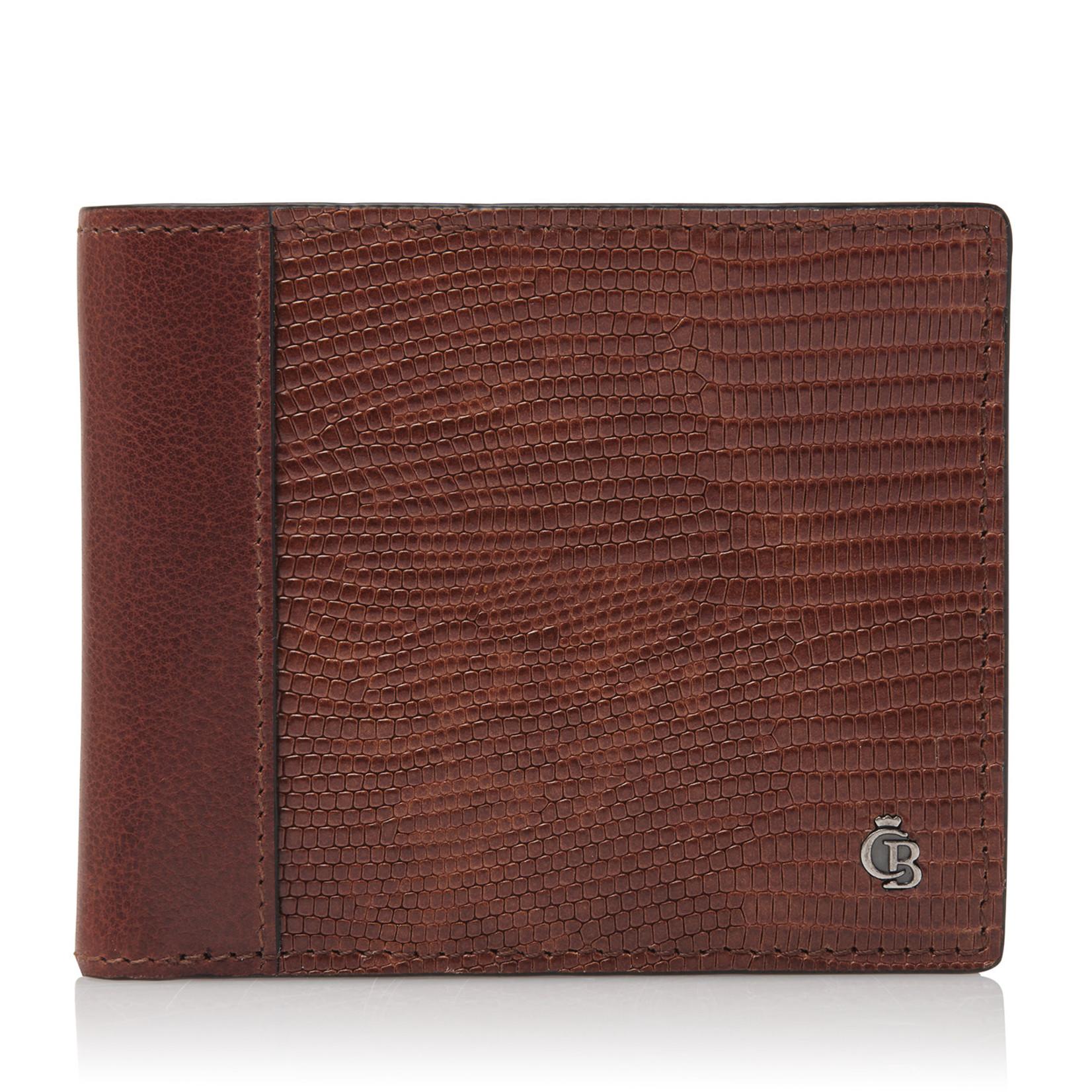 Castelijn en Beerens Donna Billfold 8 Pasjes RFID Cognac