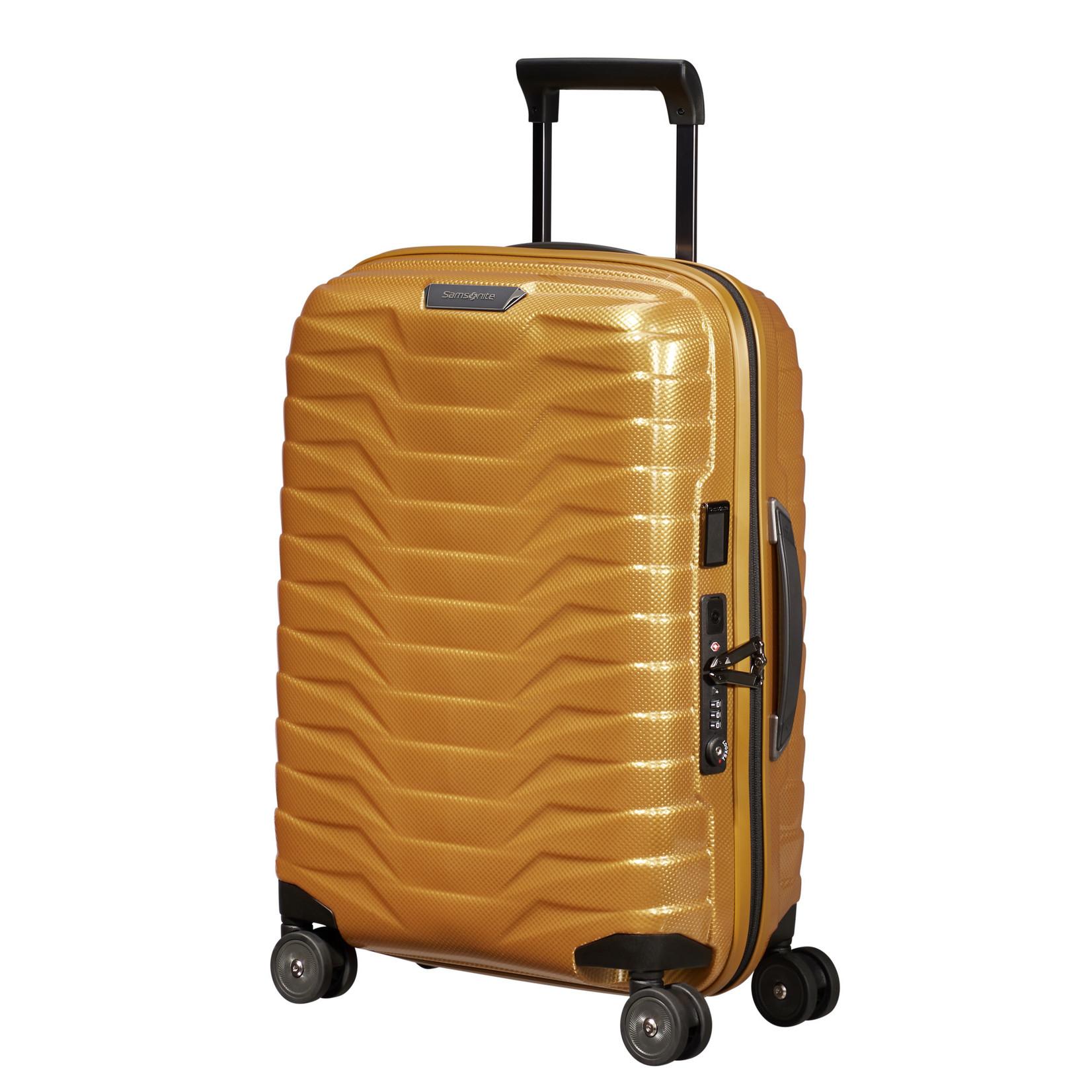 Samsonite Proxis Spinner 55/20 Exp Honey Gold