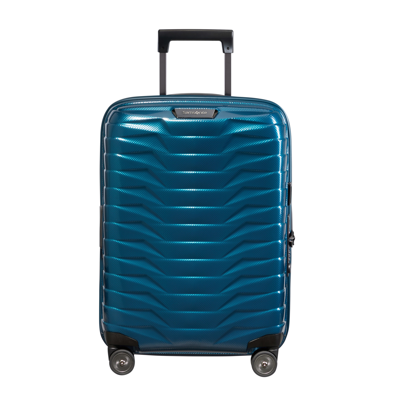 Samsonite Proxis Spinner 55/20 Exp Petrol Blue