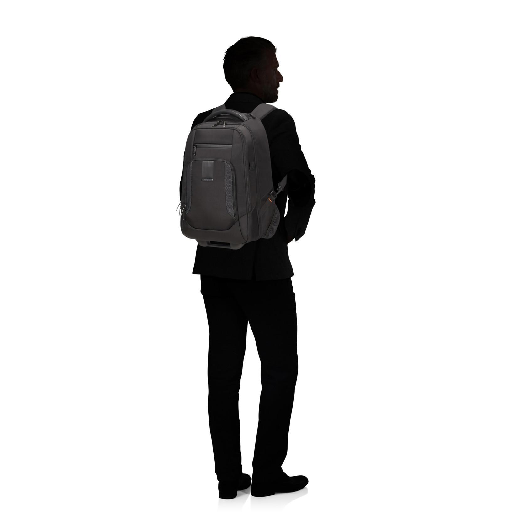 "Samsonite Cityscape Evo Laptop Backpack Trolley 15,6"" Black"