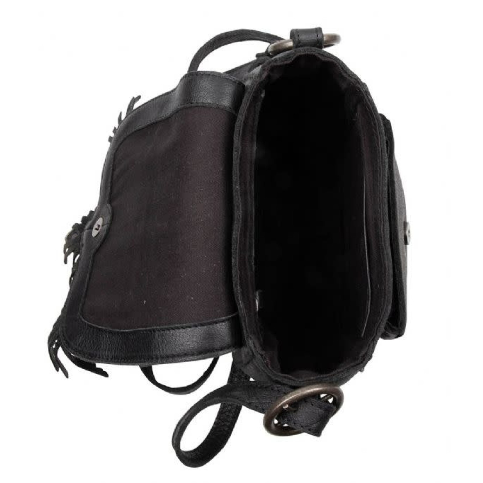 Cowboysbag Schoudertas West Black