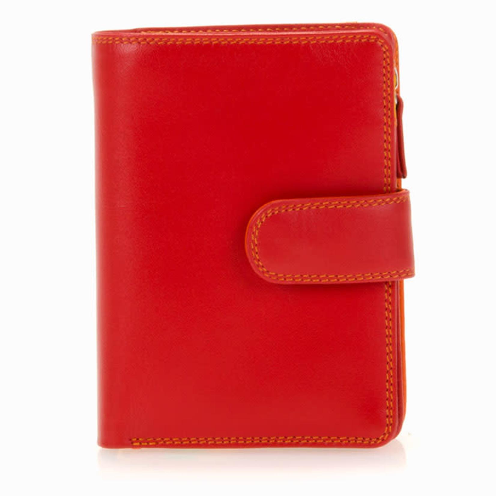 MyWalit Medium 10 C/C Wallet w/Zip Purse Jamaica