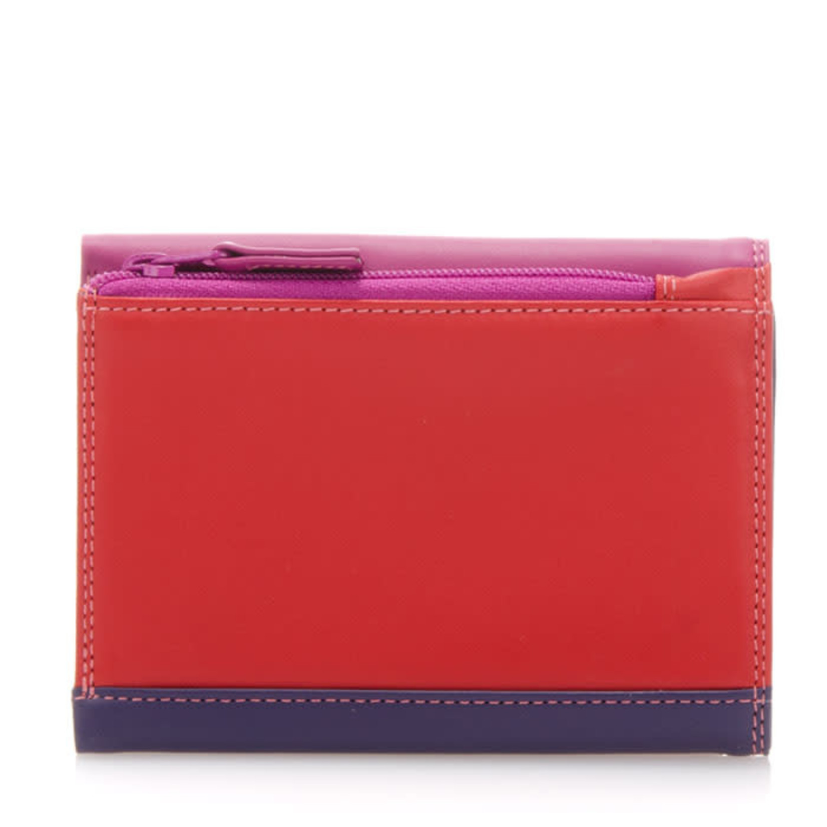 MyWalit Medium Tri-fold Wallet Sangria Multi