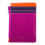 MyWalit Credit Card Holder w/Coin Purse Sangria Multi