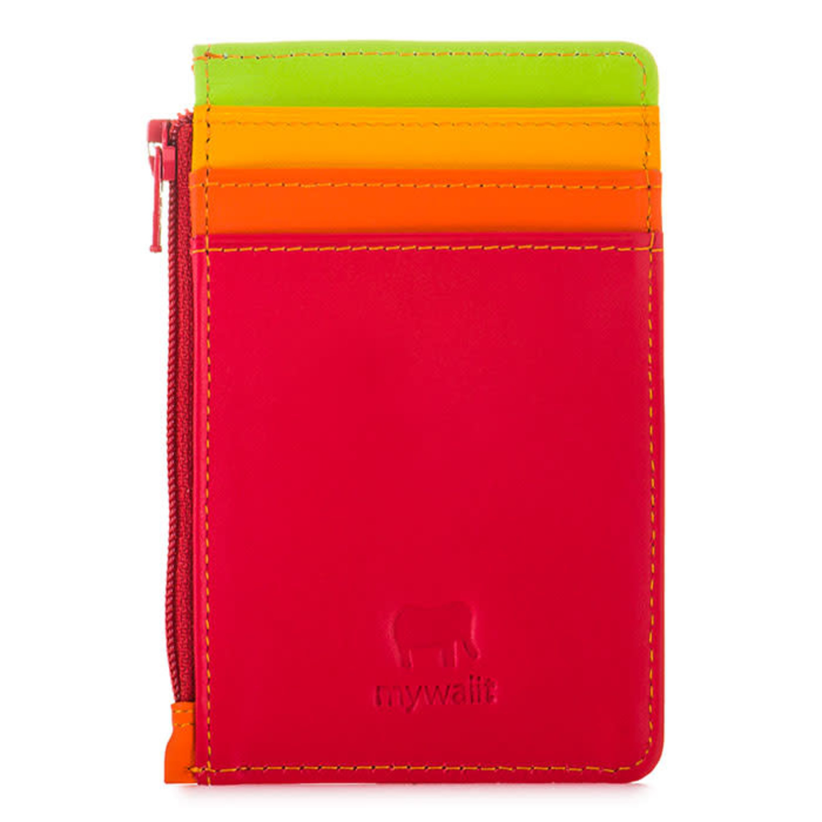 MyWalit Credit Card Holder w/Coin Purse Jamaica