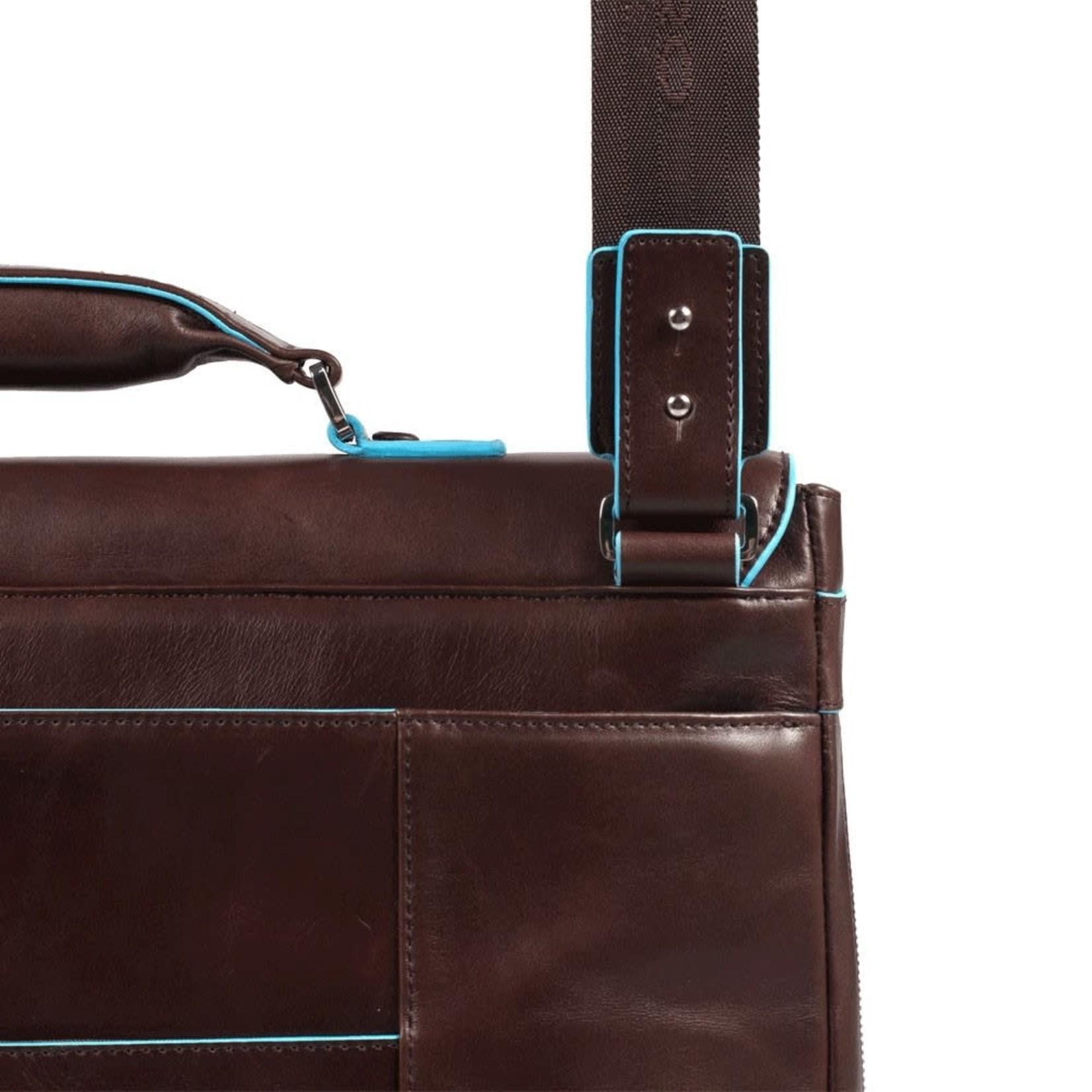 "Piquadro Laptoptas Blue Square 15"" Blue"