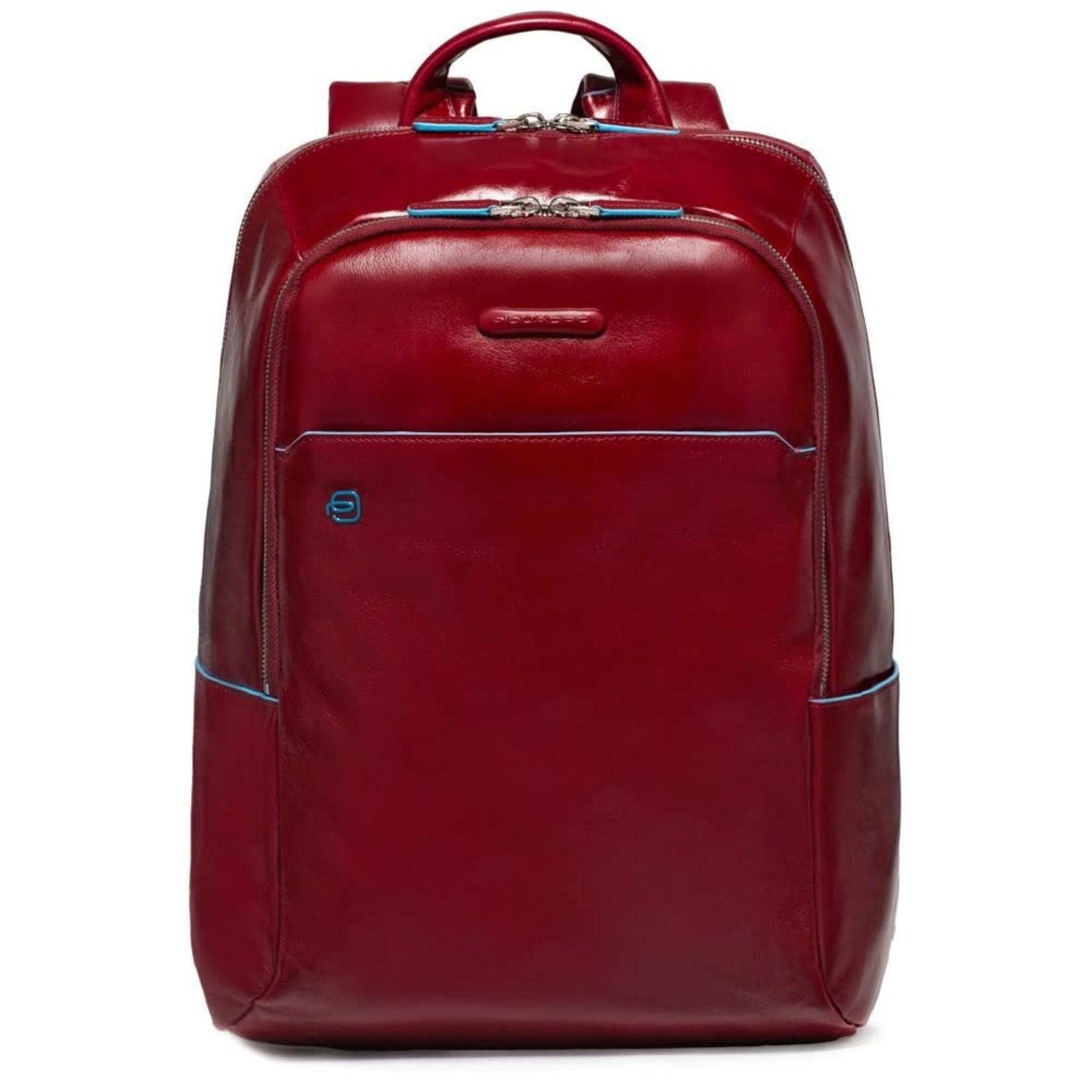 "Piquadro Laptoprugtas Blue Square Red 14"""