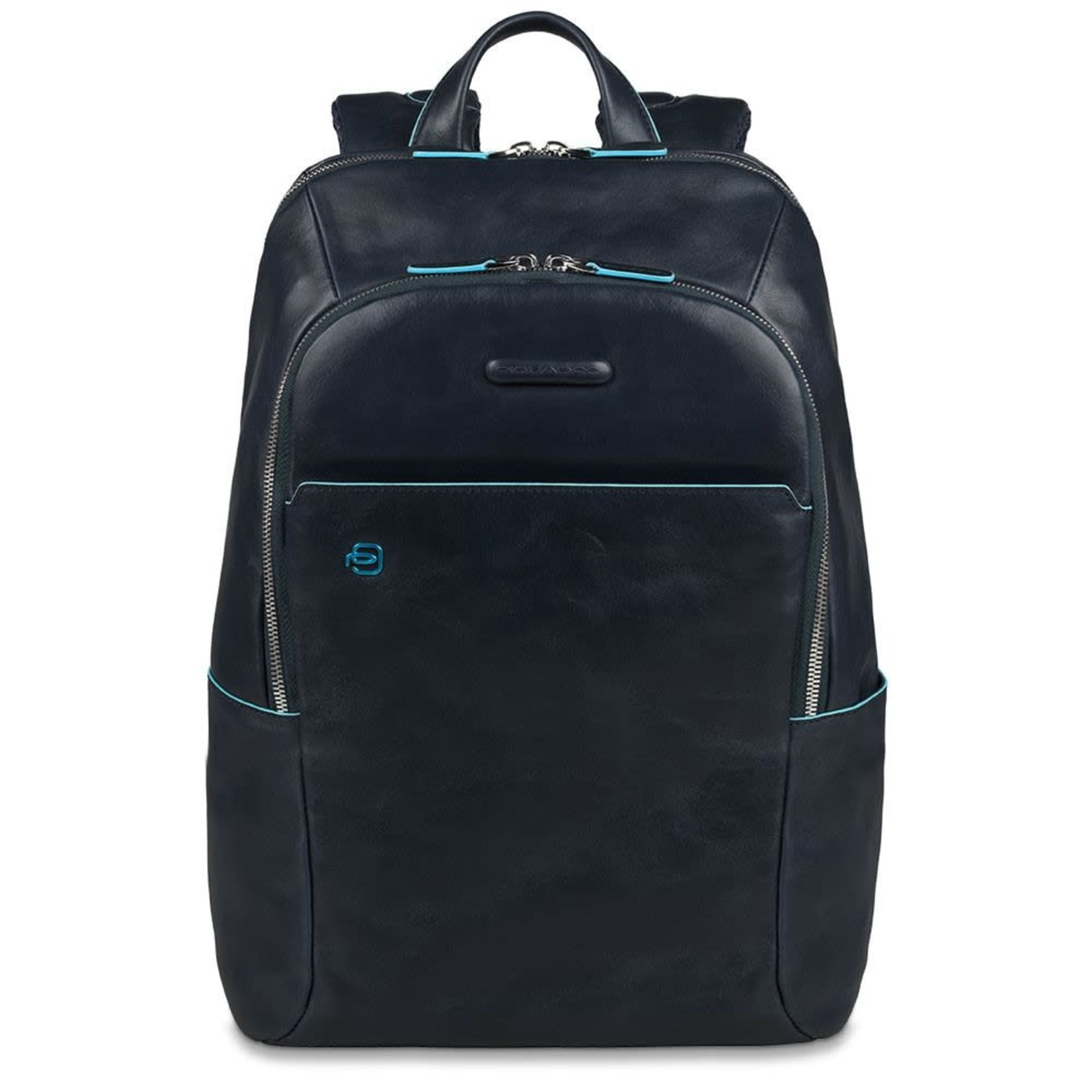 "Piquadro Laptoprugtas Blue Square 14"" Blue"