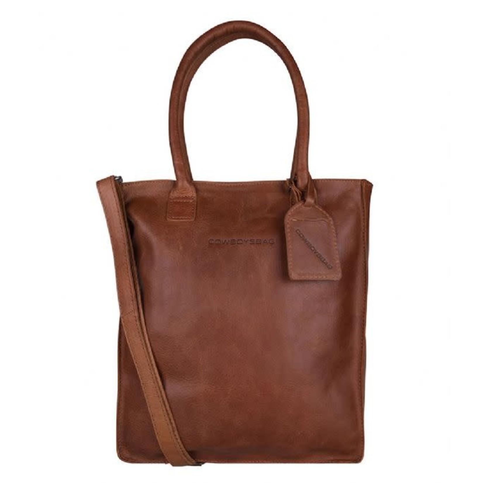 "Cowboysbag Laptop Bag Woodridge Cognac 13"""