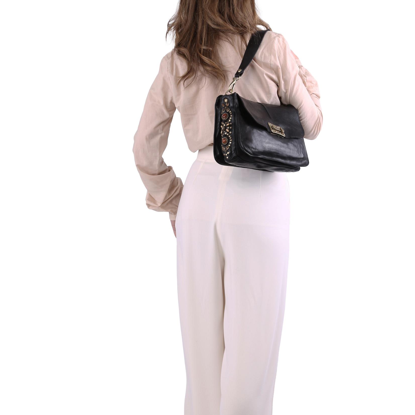 Campomaggi Bella di Notte Cross Body Bag Black