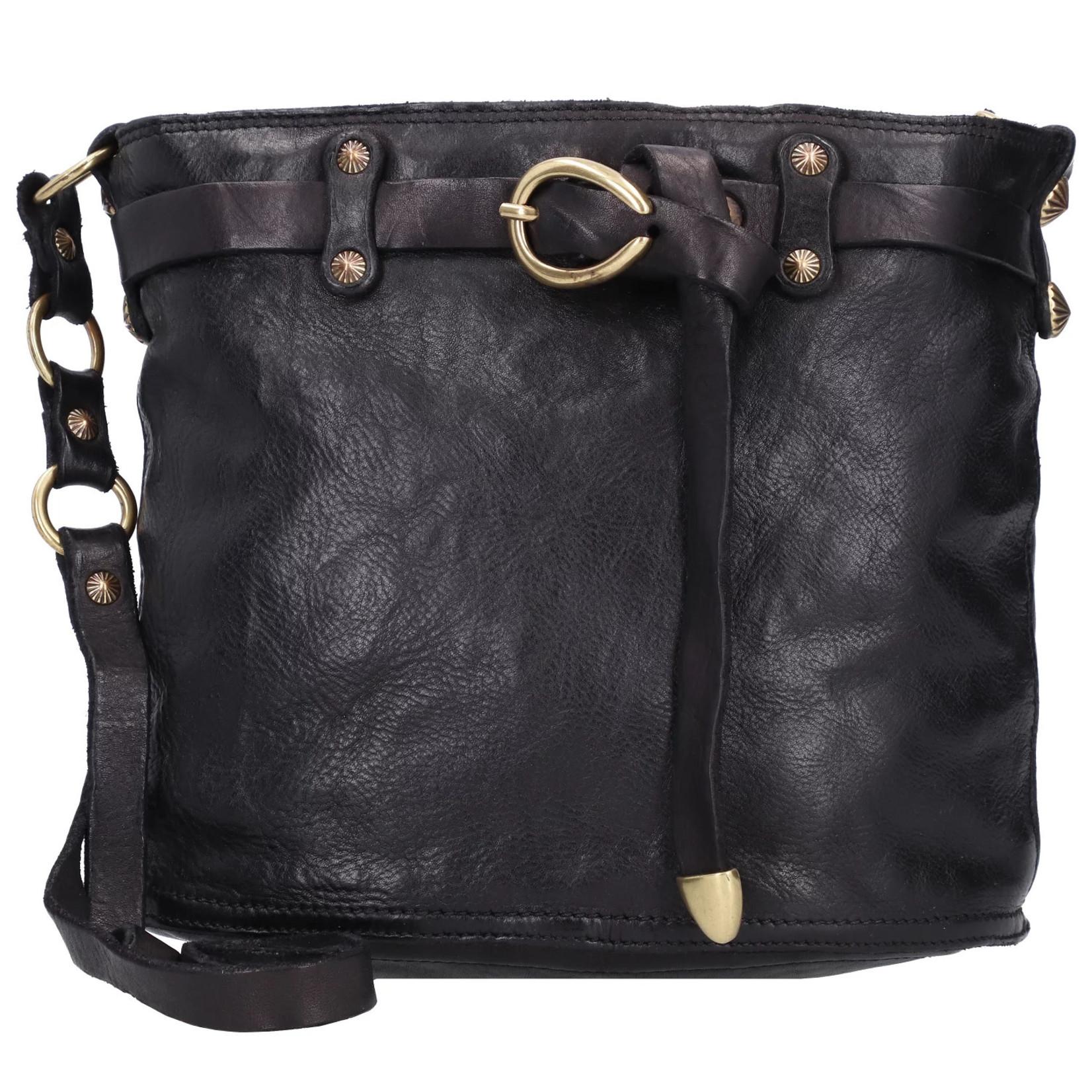 Campomaggi Bucket Bag Black