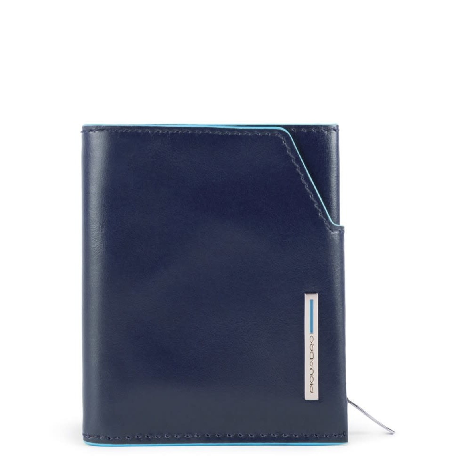 Piquadro Portemonnee Blue Square Blue