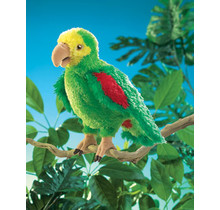Amazone papegaai handpop