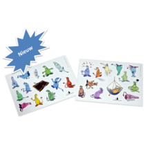 Gevoelsmonsters - stickers XL