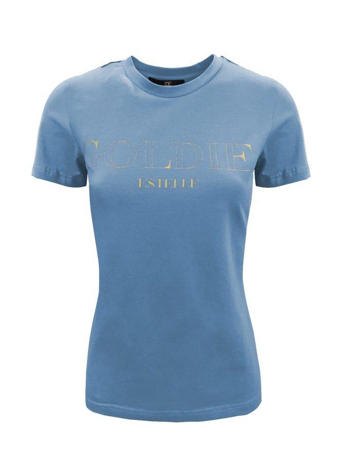 Gold T-Shirt Blauw