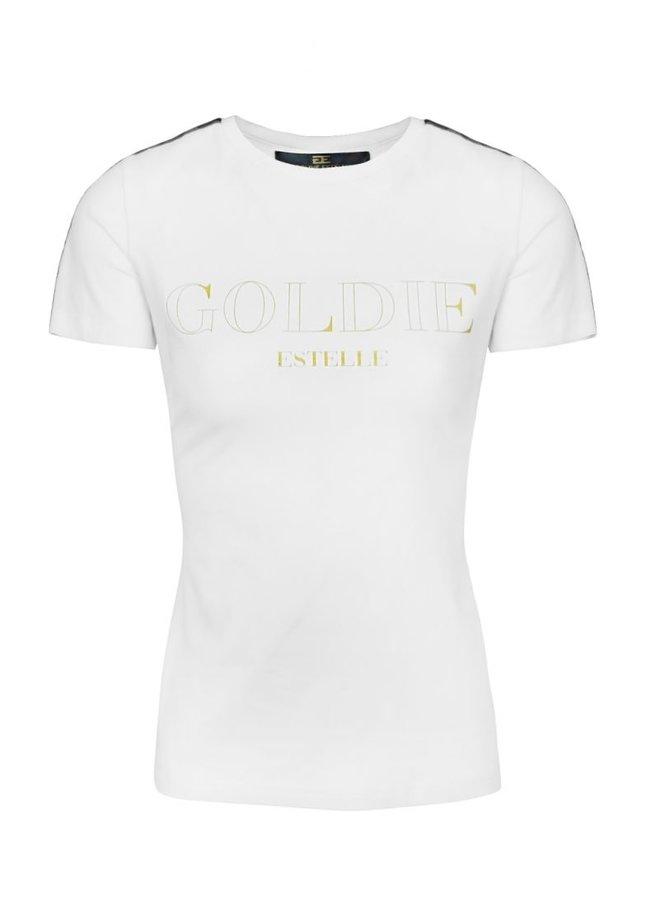 Gold T-Shirt Wit