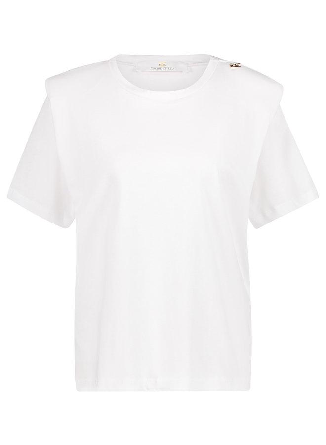 Posh T-shirt Wit