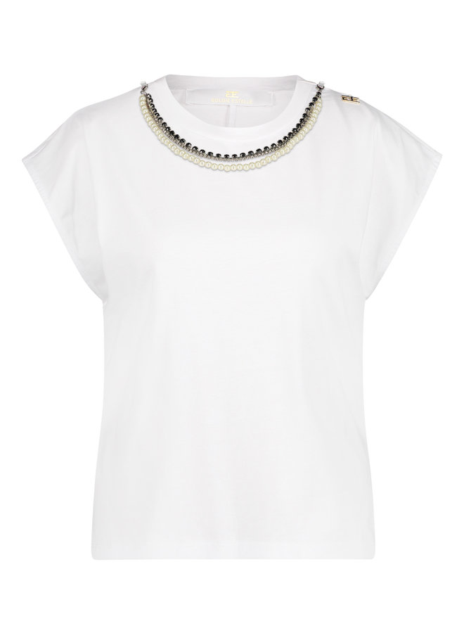 Britney T-shirt Wit