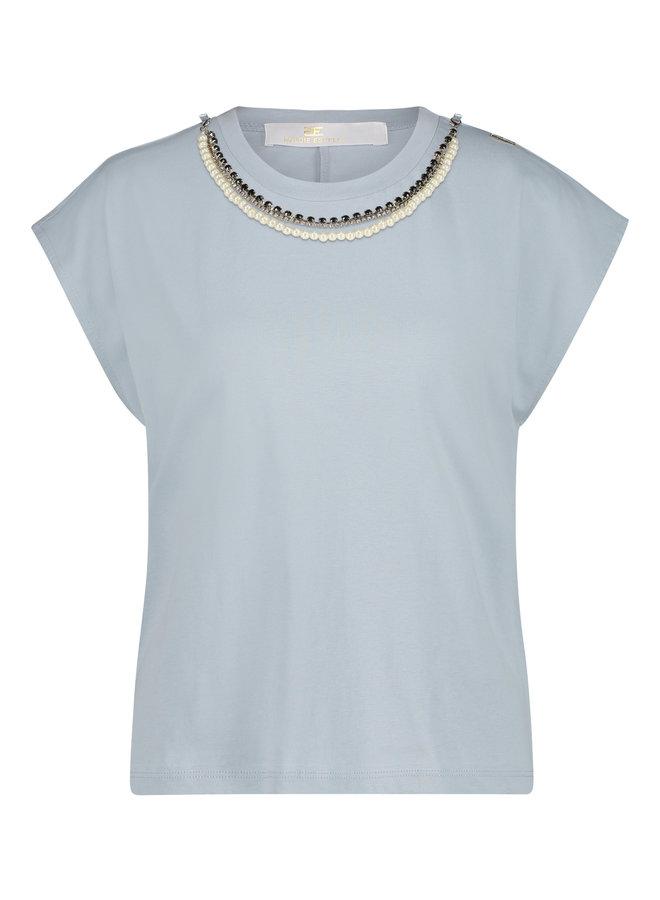 Britney T-shirt Lichtblauw