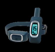 Halsband met signalen om de hond op afstand te trainen