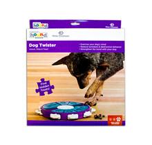 Dog Twister Spel voor de hond om het mentale gedrag positief te beïnvloeden