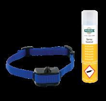 Antiblaf halsband met spray correctie