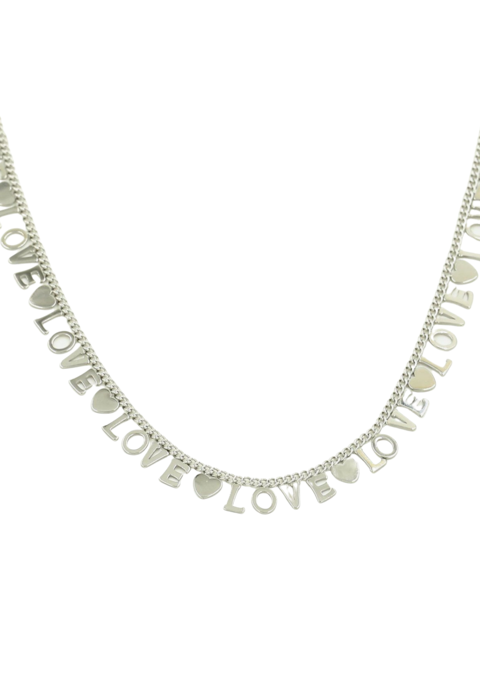 ENDLESS LOVE KETTING ZILVER