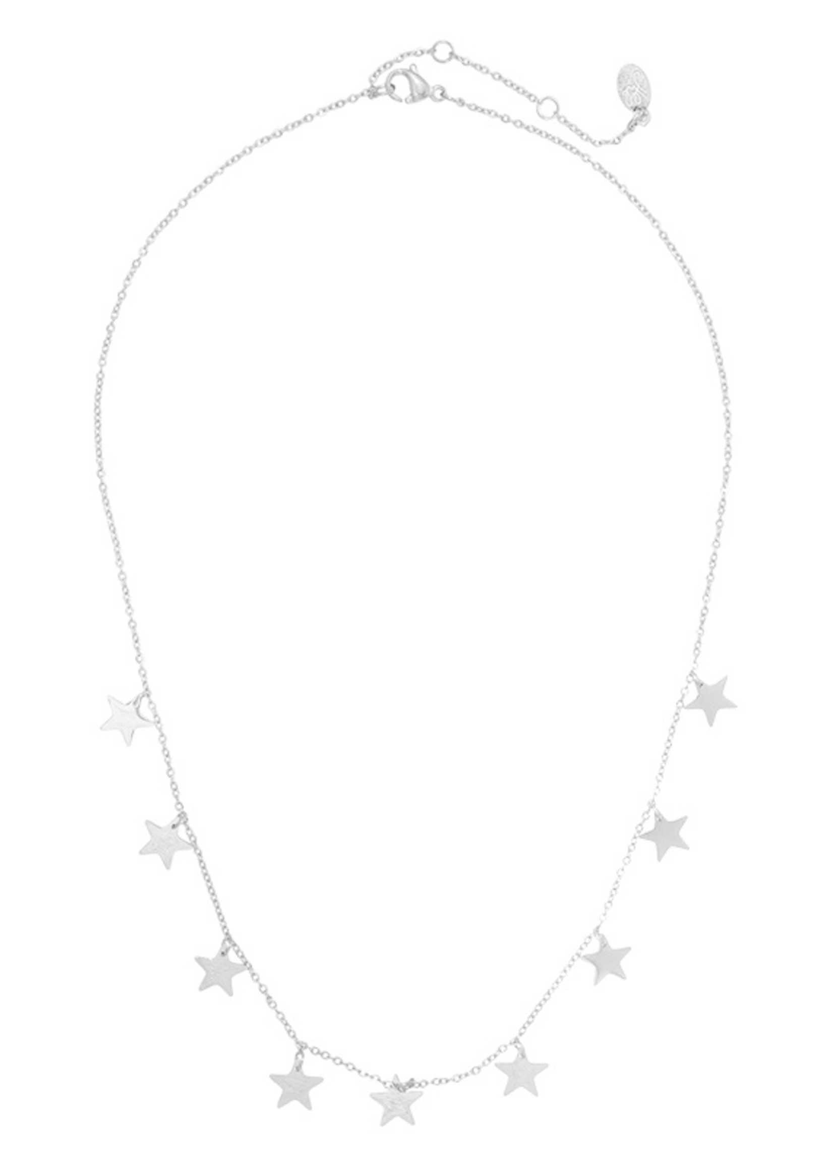 LOTS OF STARS KETTING ZILVER
