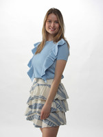 CANDY TOP BLAUW