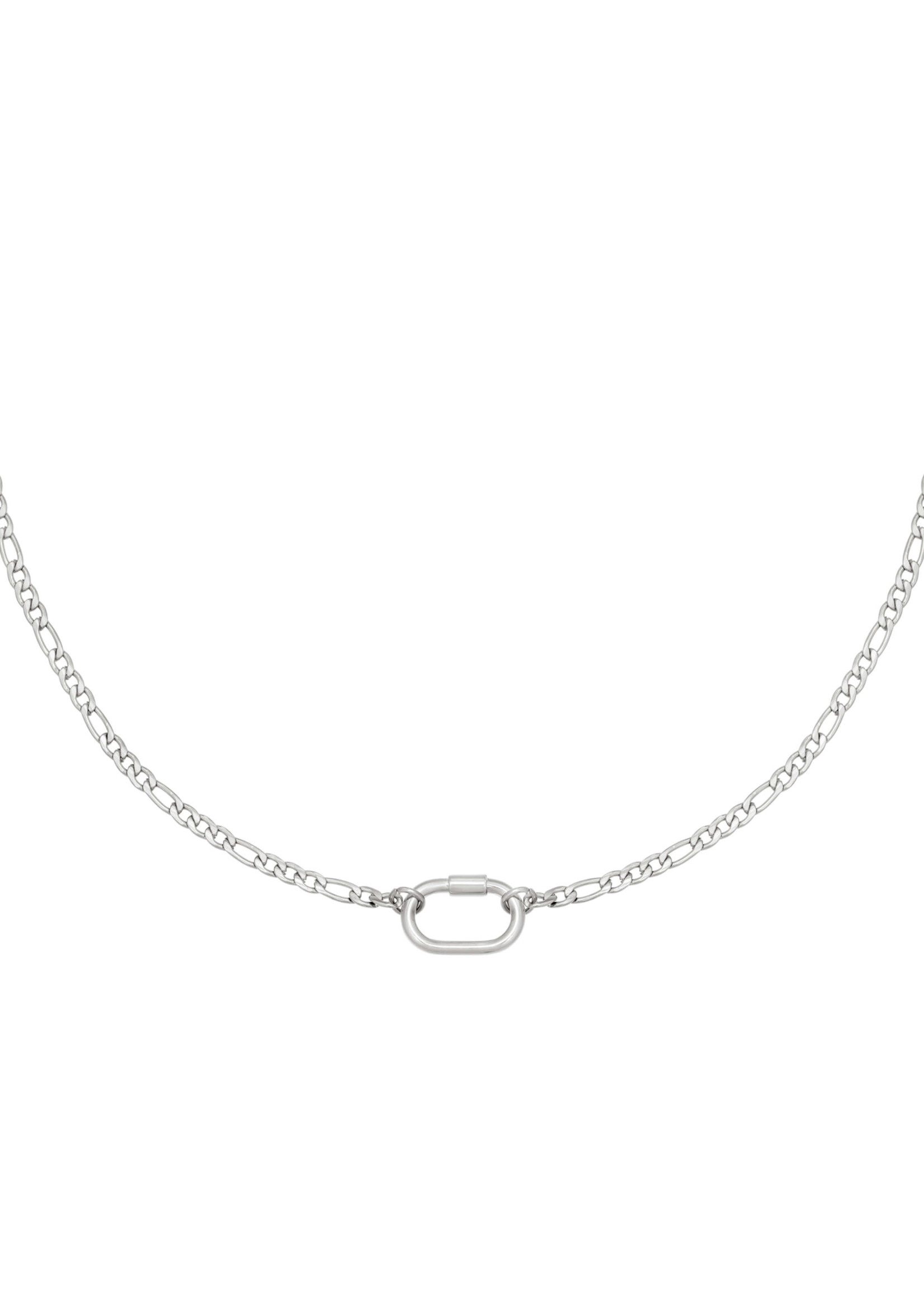 SHELBY KETTING ZILVER