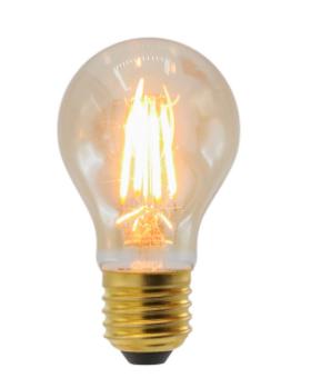 Warme LED lampen - glas
