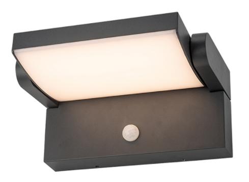 Wandlampen met sensor