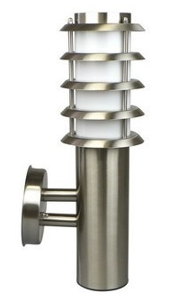 RVS wandlampen