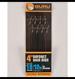 "Guru Guru Ready Rigs 4"" Bayonet Hair Rigs"