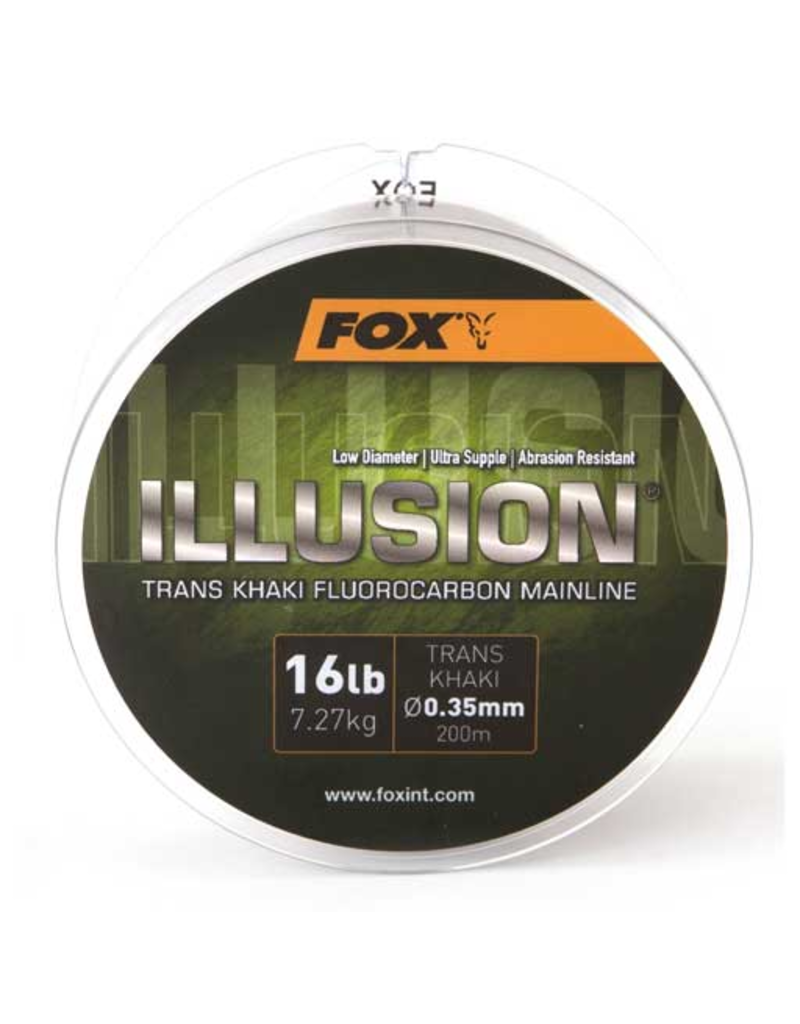 Fox Edges Fox Edges Illusion Fluorocarbon Mainline 200m