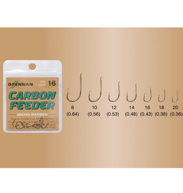 Drennan Drennan Carbon Feeder Micro Barbed Hooks