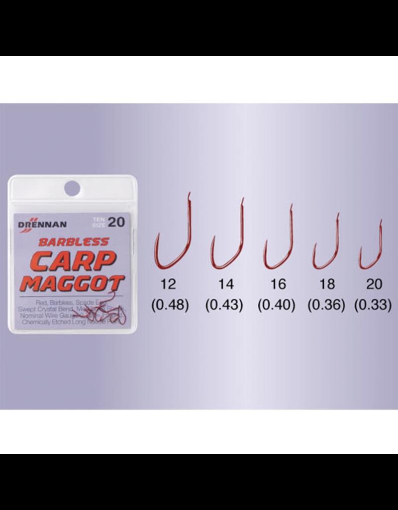 Drennan Drennan Carp Maggot Barbless Hooks
