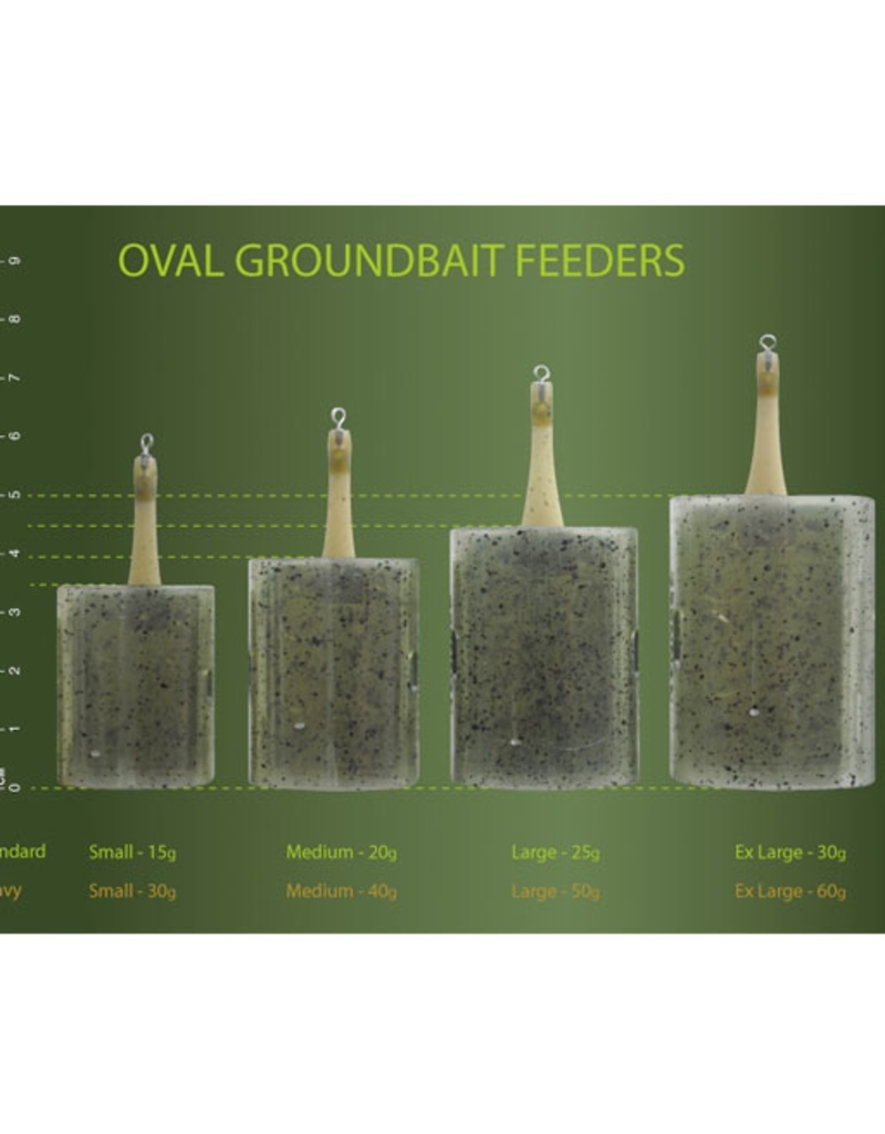 Drennan Drennan Oval Groundbait Feeders