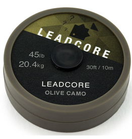 Thinking Anglers Thinking Anglers 10m Leadcore 45lb Olive Camo